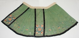 Green Chinese Wedding Skirt