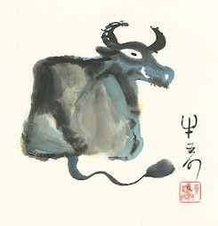 The Year of the Ox by H. H. Wong 黃可鏗
