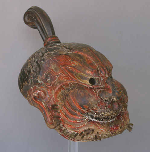 Gigaku Mask by Anonymous (Japanese Sculpture)