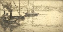 Gloucester Harbor by Bertha E. Jaques