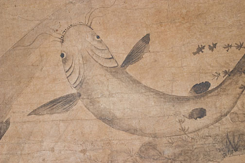 Korean Catfish Scroll(Korean Scroll)