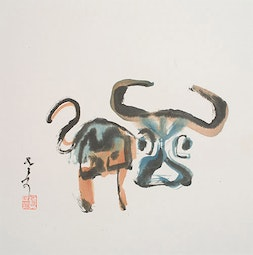Year of the Ox by H. H. Wong 黃可鏗