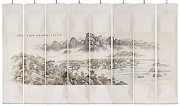 8-Part Korean Landscape