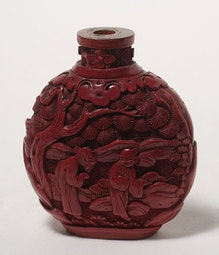 Lacquer Snuff Bottle