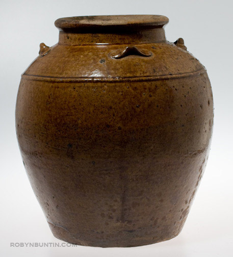 Martaban Storage Jar(Southeast Asian Functional Object)