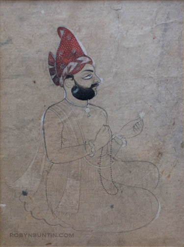 Raja(Indian Painting/Drawing)