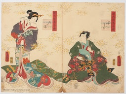 Chapter 10 Hana-no-En by Utagawa Kunisada